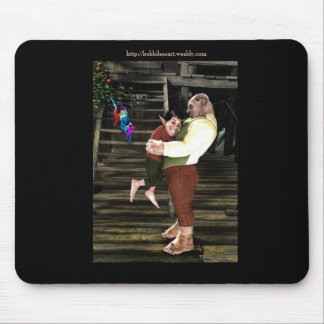 Father and Son Mouse Pad