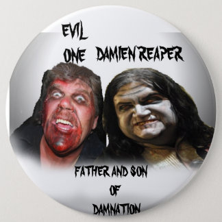 father and son ofdamnation 6 inch round button