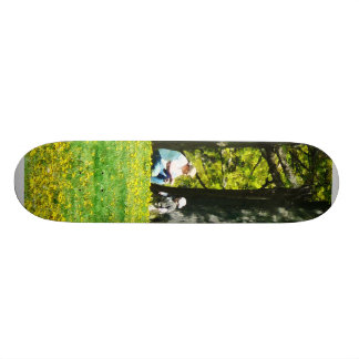 Father and Son Under the Trees Skateboards