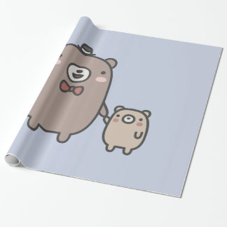 Father and Son Wrapping Paper