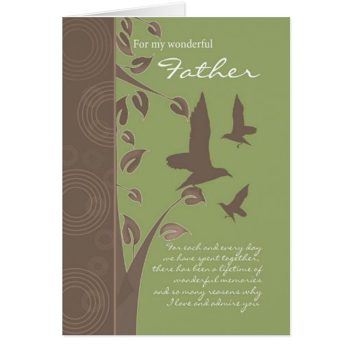 father birthday card - birthday greeting card for