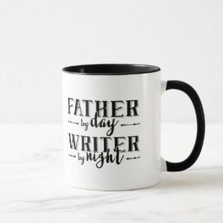 Father by day, Writer by night