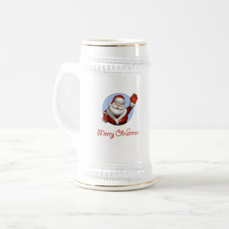 Father Christmas Beer Stein