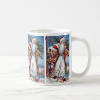 Father Christmas On His Way Coffee Mug