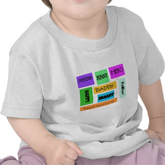 Father Daddy Happy Funny Tee Shirts