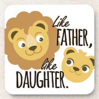 Father Daughter Drink Coasters