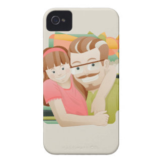 Father & daughter iPhone 4 cases