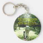 Father & Daughter Keychain