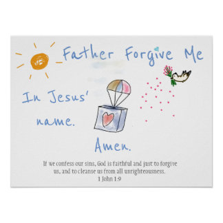 Father Forgive Me Poster