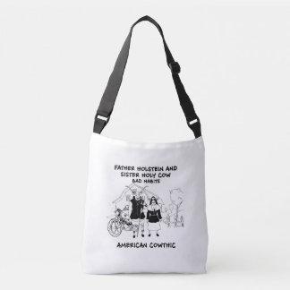 Father Holsein and Sister Holy Cow-Bad Habits Crossbody Bag