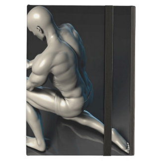 Father Imparting Wisdom to His Child or Son iPad Air Case