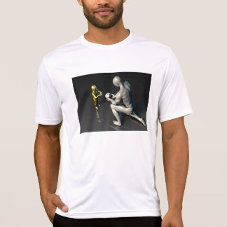 Father Imparting Wisdom to His Child or Son T-Shirt