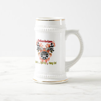 Father-in-law Auto Racing Father's Day Gifts Beer Steins