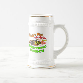 Father-in-law  Driving Force Father's Day Gifts 18 Oz Beer Stein