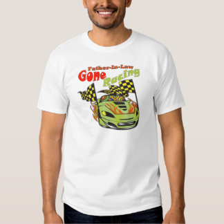 Father-in-law Gone Racing Gifts T-shirts