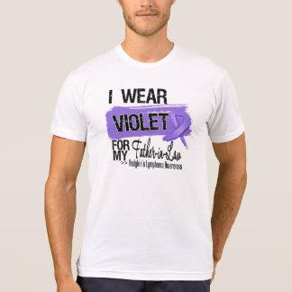 Father-in-Law Hodgkins Lymphoma Ribbon Tshirts
