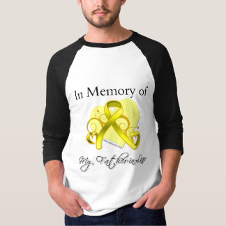 Father-in-Law - In Memory of Military Tribute T-shirts