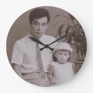 Father Large Clock