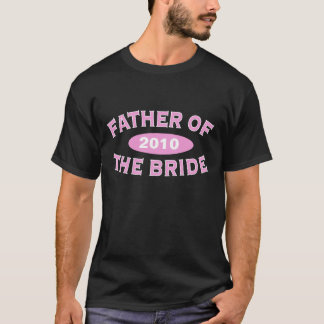 Father of Bride Pink Arc 2010 T-Shirt