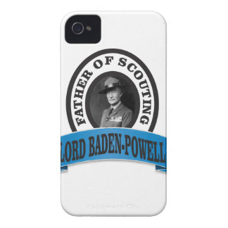 father of scouting lord baden powell iPhone 4 Case-Mate case