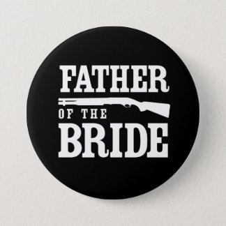 Father of the Bride 3 Inch Round Button