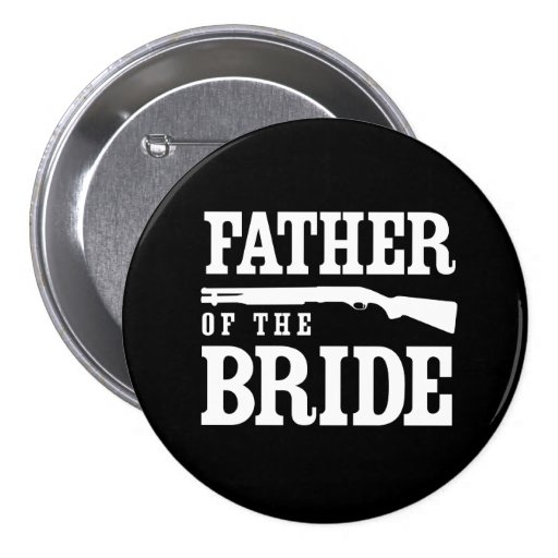 Father of the Bride Pinback Button