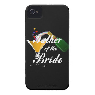 Father of the Bride Champagne Toast iPhone 4 Case-Mate Case