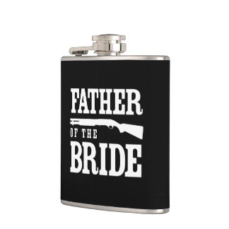 Father of the Bride Flasks