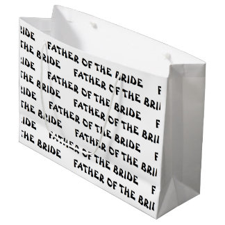 """""""Father of the Bride"""" Gift Bag"""