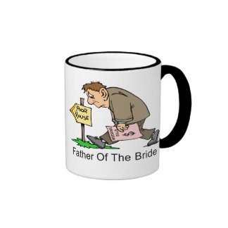 Father Of The Bride (poor house) Ringer Mug