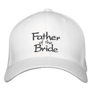 Father of the Bride Stylish Embroidered Hat
