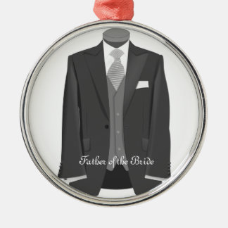 Father of the Bride Tuxedo Christmas Gift Ornament