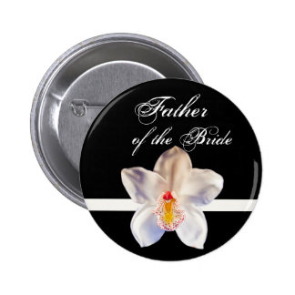 Father Of The Bride  Wedding ID Badge 2 Inch Round Button