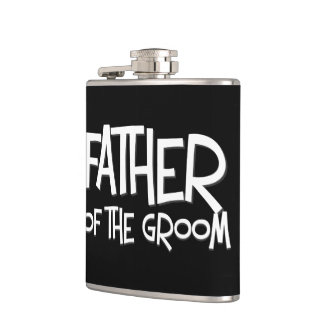 Father of the Groom Wedding Gift Flask
