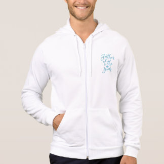Father of the year - Hand Lettering Design Hoodie