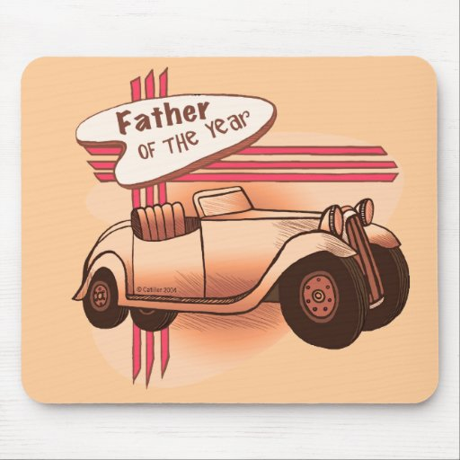 Father Of The Year Mouse Pads
