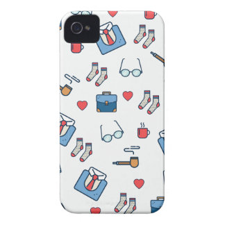 Father pipe pattern Case-Mate iPhone 4 cases