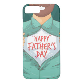 Father,s Day Apple iPhone 7, Barely Phone Case