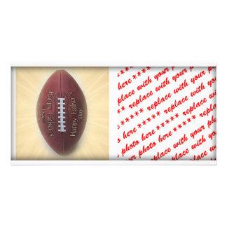 Father s Day Football Custom Photo Card