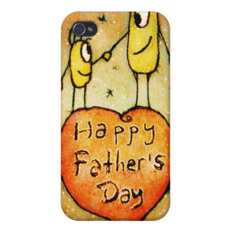 Father´s day Illustration Speck Case Cases For iPhone 4