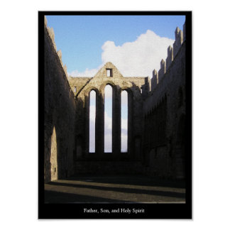 Father, Son, and Holy Spirit Poster
