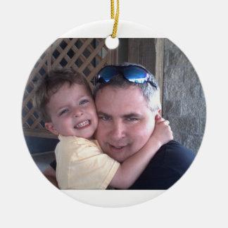 father/son ornament