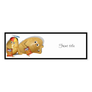 Father & Son Spuds Pack Of Skinny Business Cards