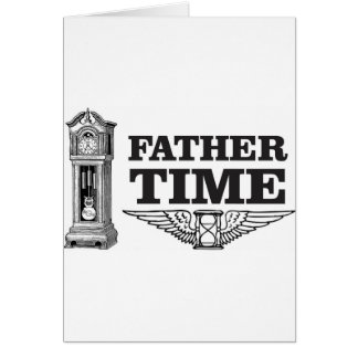 father time clock card