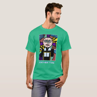 Father Time - Green - Time Pieces T-Shirt