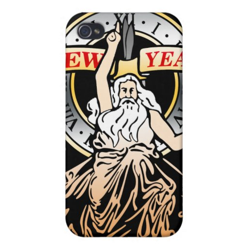 Father Time iPhone 4 Case
