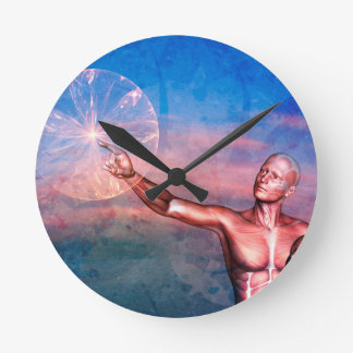 FATHER TO SON ~ THE WONDERS OF LIFE WALLCLOCK