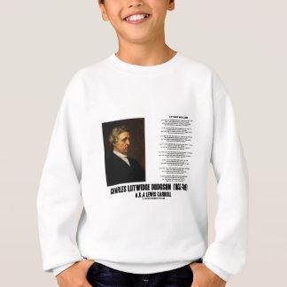 Father William Wonderland Charles Lutwidge Dodgson Sweatshirt