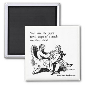 Fatherly Advice Kitchen Magnet