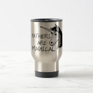 Fathers Are Magical Travel Mug